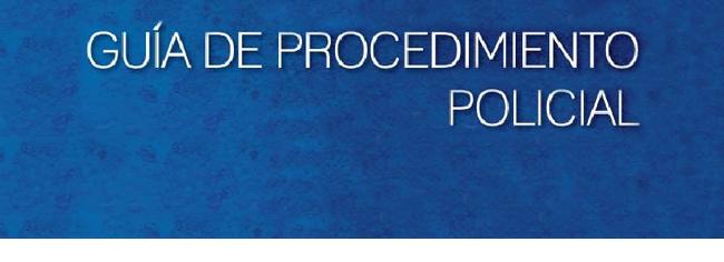 Guía de Procedimiento Policial